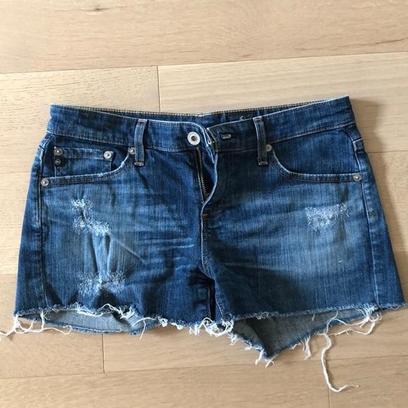 "AG ""The Bonnie"" Denim Shorts"